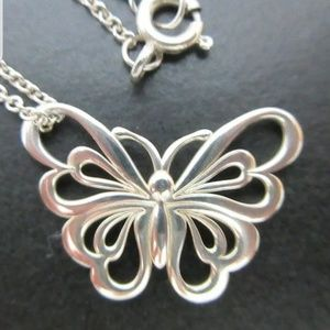 TIFFANY VERY RARE BUTTERFLY NECKLACE!